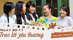 Ngày nhà giáo Việt Nam sắp đến rồi, bố mẹ cùng con bỏ túi 13 câu chúc vừa ý nghĩa, vừa ấm áp dành tặng thầy cô