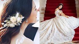 """""""Nhá hàng"""" ảnh cưới, Á hậu Hoàng Oanh lại gây tò mò về danh tính chú rể ngoại quốc"""