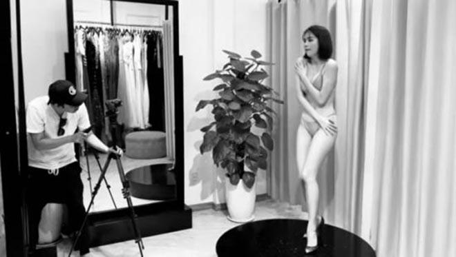 Ảnh ít biết sau những bức hình bikini nóng bỏng của Ngọc Trinh - Ảnh 5.