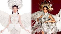 """Được ủng hộ nhiều nhất nhưng trang phục """"Cò"""" có đủ """"mới lạ"""" để Hoàng Thùy mang đi """"Miss Universe""""?"""