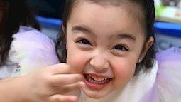 """Con gái """"mỹ nhân đẹp nhất Philippines"""" Marian Rivera ngộ nghĩnh đáng yêu trong tiệc sinh nhật sớm"""