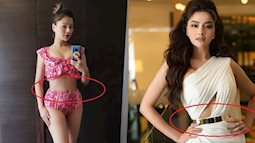 Bất ngờ với vòng eo của siêu mẫu Vũ Thu Phương ở tuổi 34: Nhỏ hơn cả Ngọc Trinh!