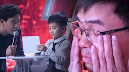 """Siêu trí tuệ Việt Nam: Thần đồng 7 tuổi và nước mắt của người bố """"ước con như bao đứa trẻ bình thường"""""""
