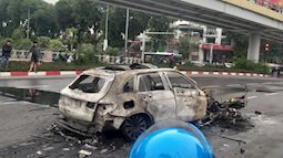 Hà Nội: Khởi tố vụ án nữ tài xế Mercedes đi giày cao gót gây tai nạn khiến cô gái trẻ tử vong