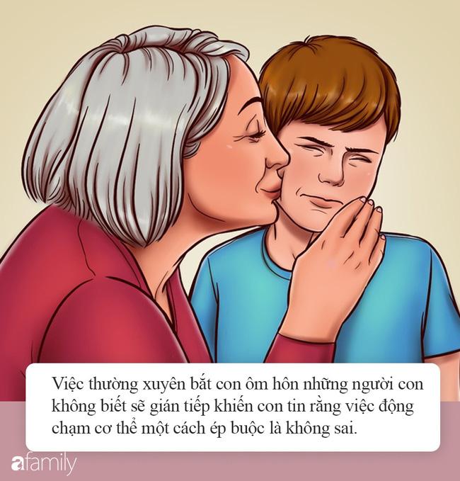 Đừng bao giờ ép buộc con phải ôm hôn người lớn, những ức chế con phải chịu lớn hơn nhiều so với bố mẹ tưởng tượng - Ảnh 3.