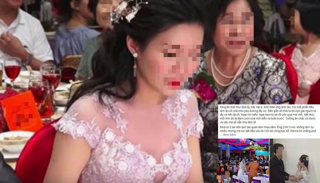 Cô dâu đáng thương bị người cũ đến làm loạn đám cưới nhưng hiểu đầu đuôi câu chuyện khách khứa lại nhao nhác:
