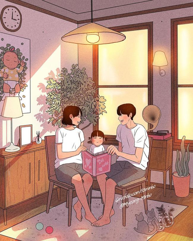Không rời mắt được trước bộ ảnh nhẹ nhàng sâu lắng của gia đình có 2 con nhỏ: Cuộc sống chỉ cần bình yên như này là đủ rồi - Ảnh 6.