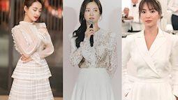 """Song Hye Kyo - Nhã Phương đều có chung một """"thần chú"""" mặc đẹp nhưng style của đại diện xứ Hàn dễ học hỏi hơn nhiều"""