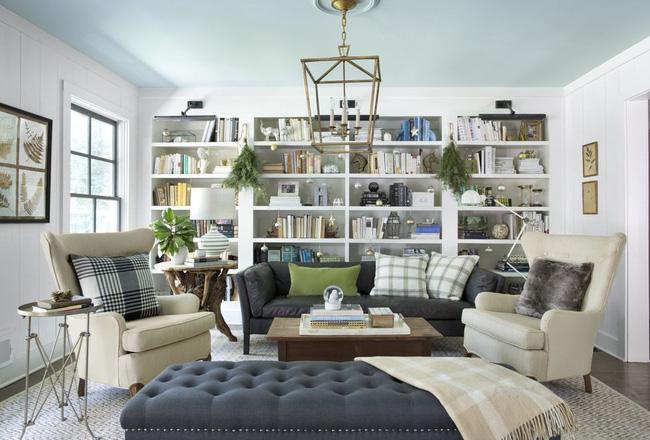 Những cách tạo không khí vui vẻ cùng nét nổi bật độc đáo cho phòng khách nhà bạn dịp Giáng sinh - Ảnh 11.