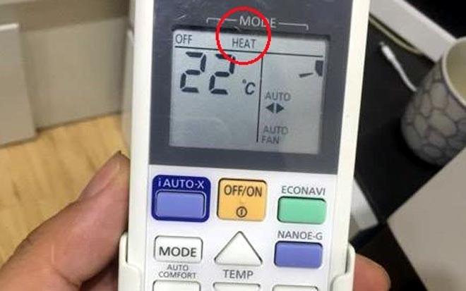 Kinh nghiệm sử dụng điều hòa vào mùa đông: Biết dùng còn tiết kiệm hơn lò sưởi - Ảnh 1.