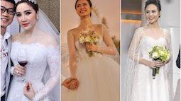 """5 sao Việt thay váy cưới như """"chạy sô"""" trong năm 2019, bộ nào cũng cầu kỳ lộng lẫy chuẩn công chúa cổ tích"""