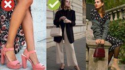 Phụ nữ Pháp sẽ không bao giờ đi kiểu giày thô kệch này, thay vào đó là 3 lựa chọn tinh tế hơn nhiều