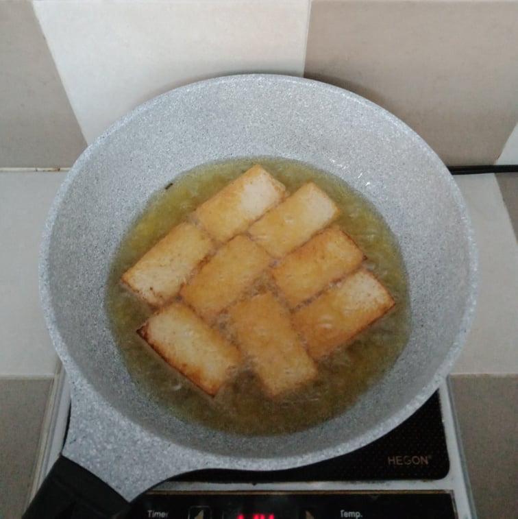 Rằm tháng Chạp tôi nấu bữa cơm chay giản dị ăn tối, chưa đầy 30 phút đã xong cả 2 món! - Ảnh 5.