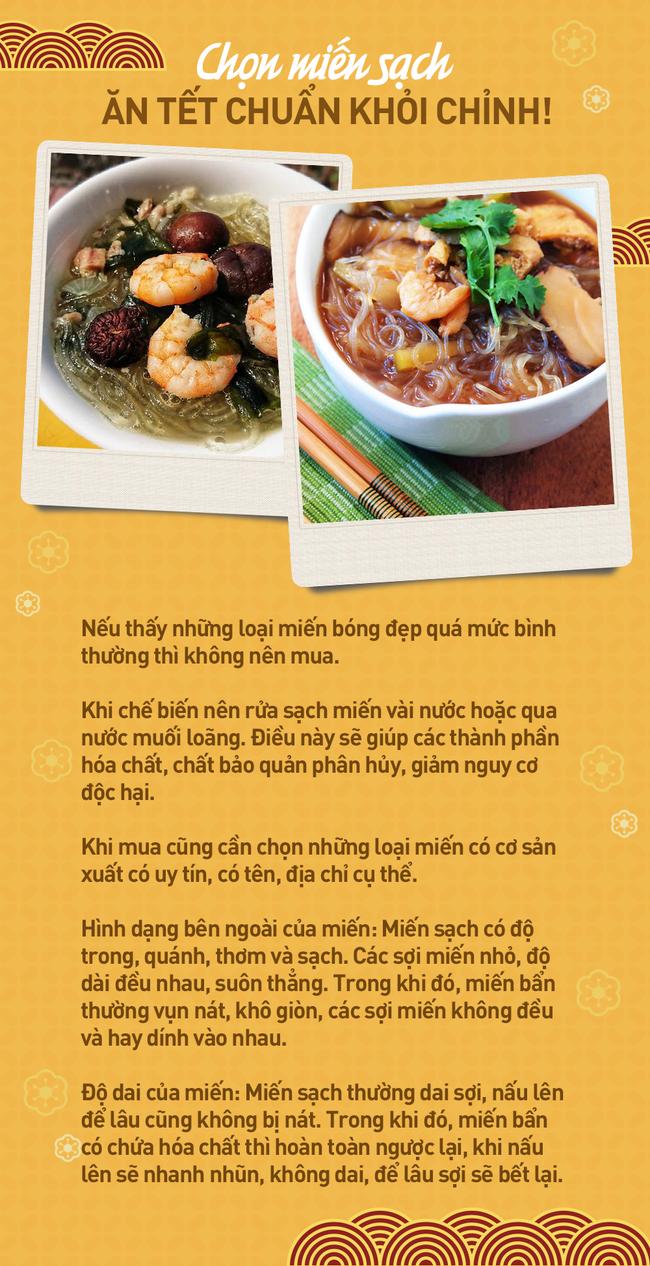 Chọn miến sạch để ăn Tết: Chuyên gia đưa ra các tiêu chí hàng đầu để món ăn vừa sạch vừa ngon - Ảnh 6.