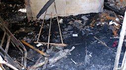 Hiện trường ngôi nhà xảy ra vụ hỏa hoạn khiến 5 mẹ con tử vong thương tâm ngày 27 Tết, mọi thứ đều cháy đen, chỉ còn lại đống đổ nát