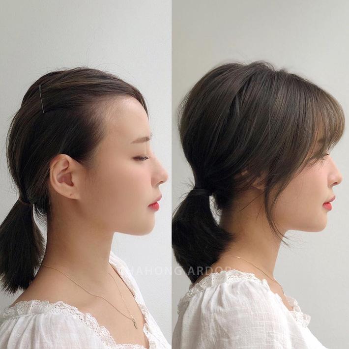 Chùm ảnh lột xác chứng minh sự vi diệu của tóc mái: Hack tuổi thì rõ rồi, nhưng còn che trán thưa hói, nâng tầm nhan sắc tài tình - Ảnh 2.