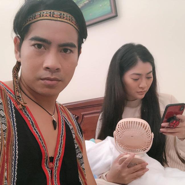 Ngọc Lan đưa con trai đến thăm Thanh Bình, nam diễn viên còn nói lời xúc động với vợ cũ  - Ảnh 2.