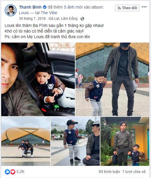 Ngọc Lan đưa con trai đến thăm Thanh Bình, nam diễn viên còn nói lời xúc động với vợ cũ  - Ảnh 7.