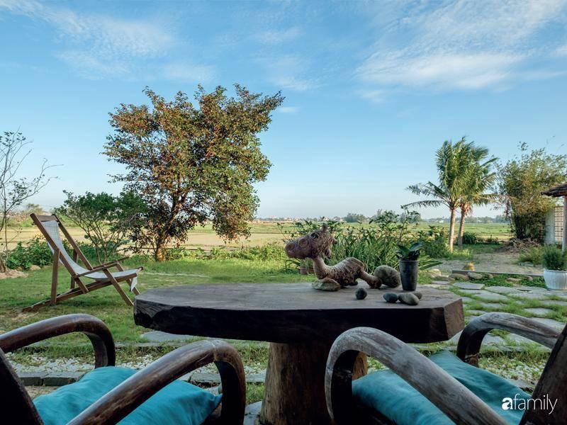 Chất ngất khi ngắm nhìn ngôi nhà bình yên hướng thẳng tầm nhìn ra cánh đồng lúa thẳng cánh cò bay ở Hội An - Ảnh 5.