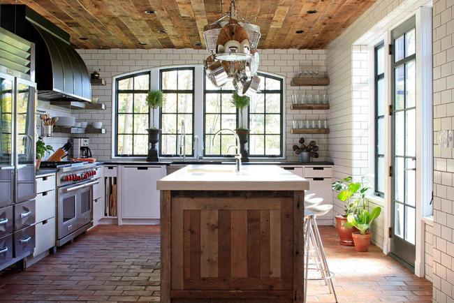 Ngây ngất với nét mộc mạc hiếm hoi bên trong căn phòng bếp gia đình hiện đại - Ảnh 9.