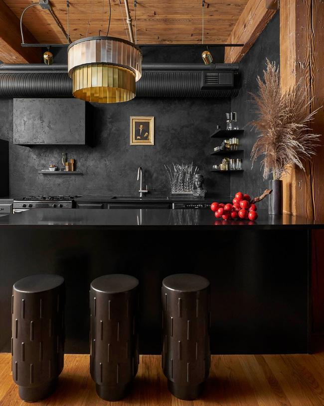 Ngây ngất với nét mộc mạc hiếm hoi bên trong căn phòng bếp gia đình hiện đại - Ảnh 14.