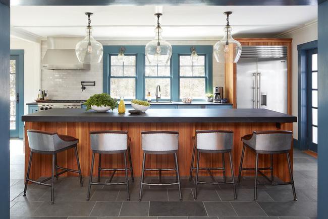 Ngây ngất với nét mộc mạc hiếm hoi bên trong căn phòng bếp gia đình hiện đại - Ảnh 16.