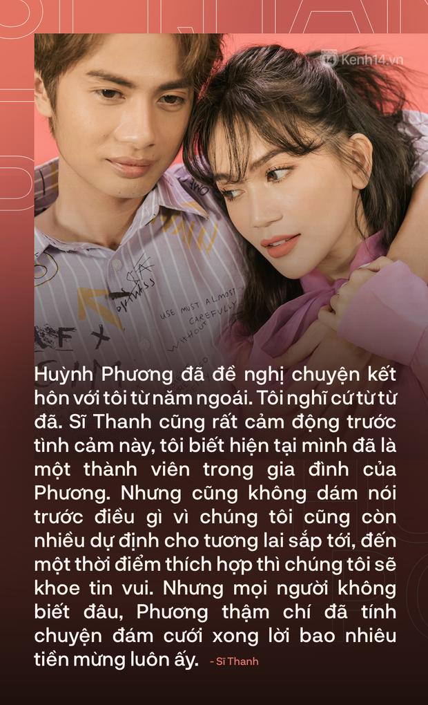 Valentine nghe chuyện tình yêu Sĩ Thanh - Huỳnh Phương: Chúng tôi đã nghĩ đến chuyện kết hôn, còn tính luôn tiền mừng lãi! - Ảnh 12.