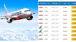 Giá vé máy bay thấp kỉ lục chưa từng có trong cả chục năm trở lại đây, Hà Nội - Hồ Chí Minh chỉ còn 199.000 đồng