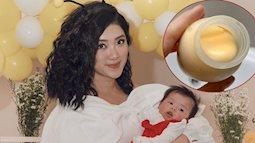 """MC Yumi Dương tiết lộ một loạt bí quyết hay ho để sữa mẹ vắt ra """"đặc quánh và đầy một lớp béo"""""""