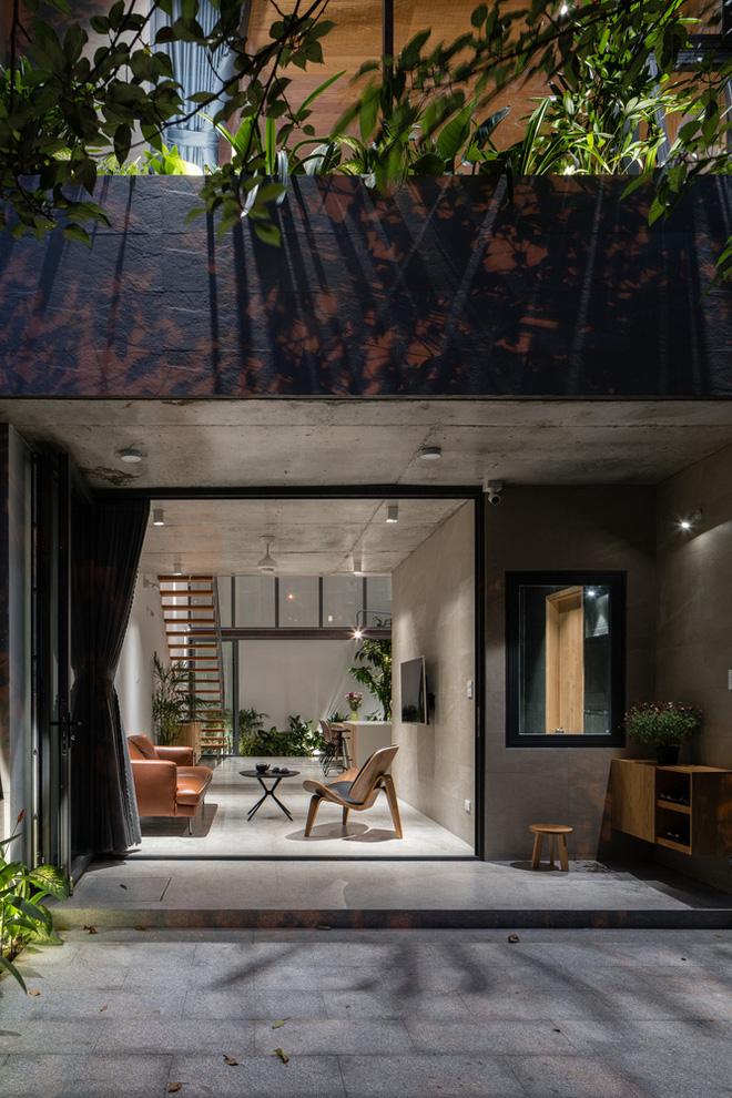 Lạ mắt với ngôi nhà được thiết kế trông như mảnh ruộng bậc thang tại Quy Nhơn - Ảnh 4.