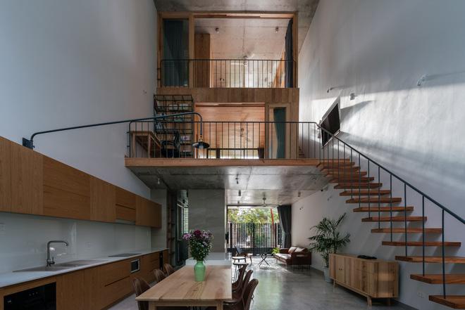 Lạ mắt với ngôi nhà được thiết kế trông như mảnh ruộng bậc thang tại Quy Nhơn - Ảnh 3.