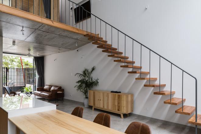 Lạ mắt với ngôi nhà được thiết kế trông như mảnh ruộng bậc thang tại Quy Nhơn - Ảnh 12.