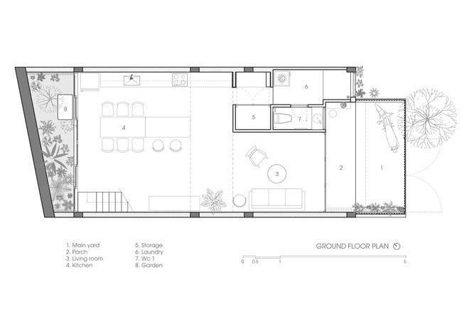 Lạ mắt với ngôi nhà được thiết kế trông như mảnh ruộng bậc thang tại Quy Nhơn - Ảnh 15.