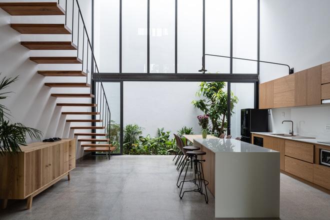 Lạ mắt với ngôi nhà được thiết kế trông như mảnh ruộng bậc thang tại Quy Nhơn - Ảnh 6.