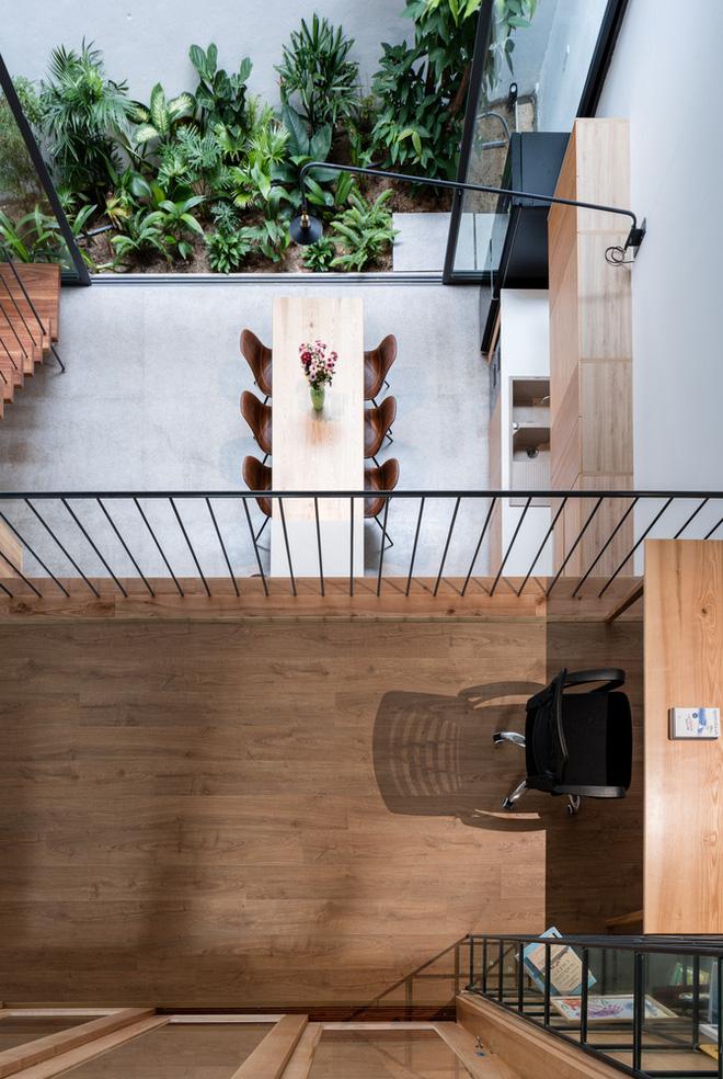 Lạ mắt với ngôi nhà được thiết kế trông như mảnh ruộng bậc thang tại Quy Nhơn - Ảnh 9.