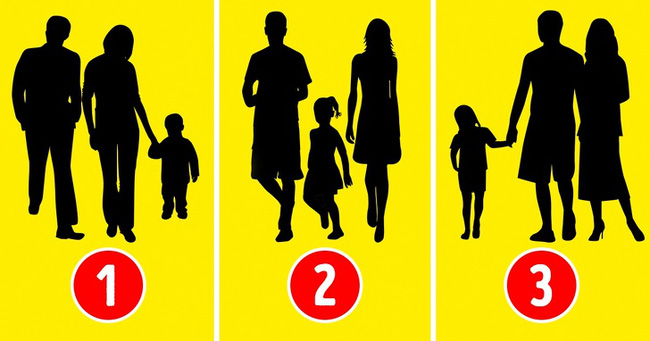 Nhìn vào 3 bức ảnh này, bạn đoán xem đâu là gia đình giả, sự lựa chọn sẽ tiết lộ suy nghĩ về gia đình mà bạn đang cố che giấu - Ảnh 1.