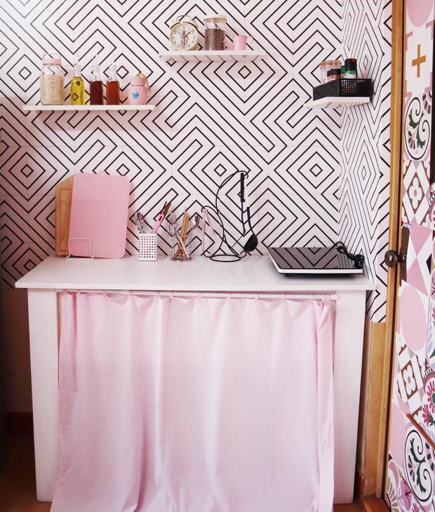 Cô gái chi 6 triệu để decor phòng màu hồng siêu xinh: Ở trọ nhưng quyết không ở nơi xấu xí, tạm bợ - Ảnh 2.