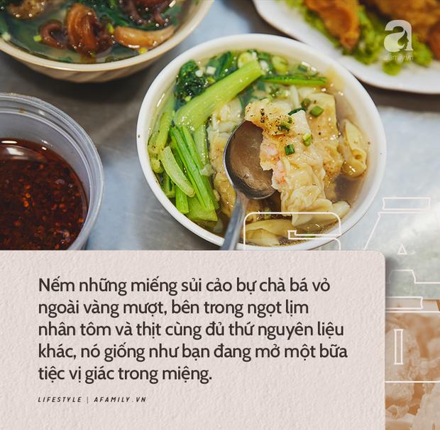 Chiều chiều kéo nhau đi ăn tiệm ở phố sủi cảo Hà Tôn Quyền, nét văn hóa thú vị của người Sài Gòn - Ảnh 6.