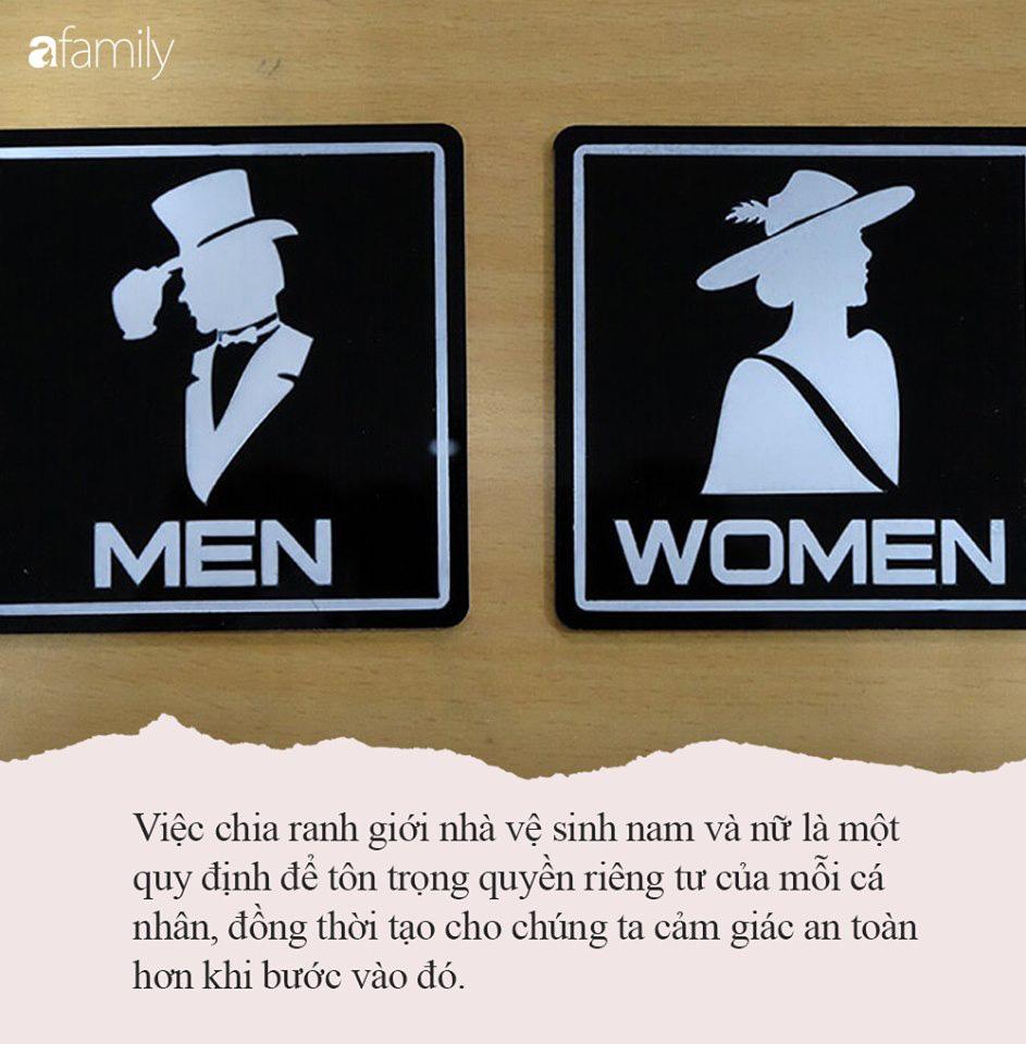 Dắt con gái vào nhà WC nữ, ông bố bị dư luận chỉ trích kịch liệt nhưng phẫn nộ hơn là hành vi vô tư của bà mẹ ở bên ngoài - Ảnh 3.