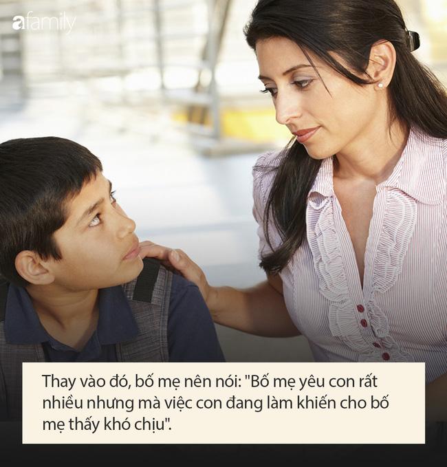 Dù tức con đến mấy, bố mẹ cũng tuyệt đối không được nói 5 câu nói sau đây khiến con bị ám ảnh tâm lý về lâu dài - Ảnh 2.