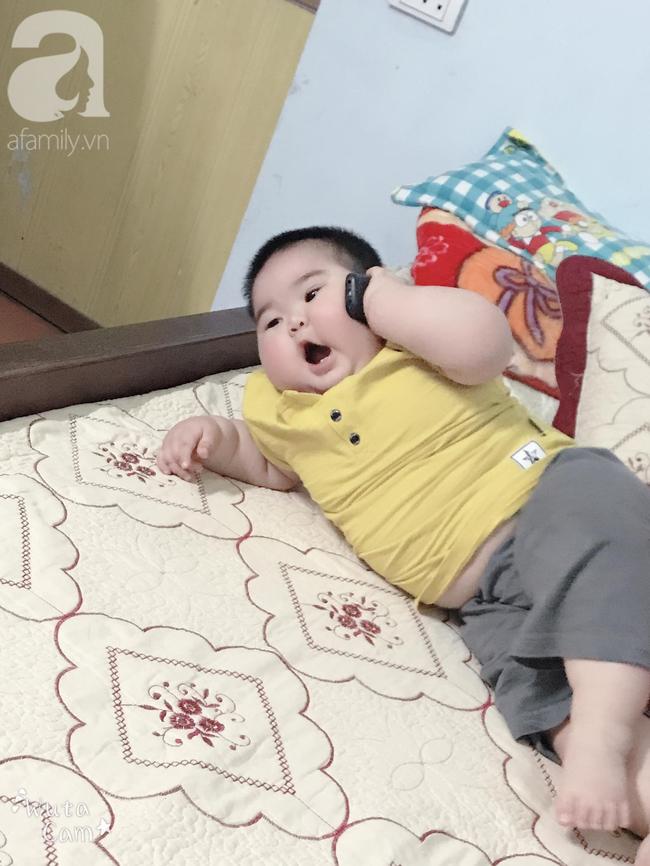 Hội mẹ bỉm thích thú vì cậu bé mập ú 1 tuổi đã 17kg, ai nhìn cũng muốn bế nhưng chỉ được vài phút là trả vì... nặng - Ảnh 10.