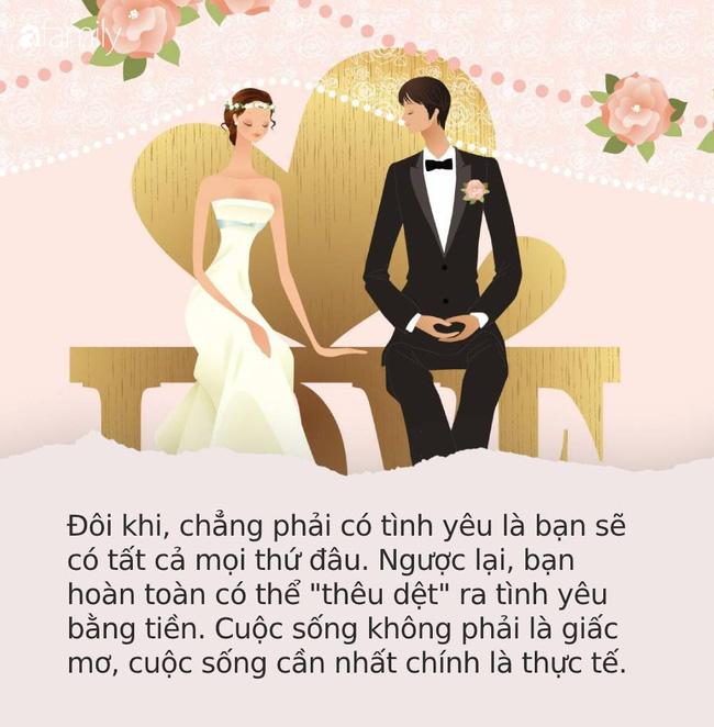 Điều phụ nữ sợ nhất sau khi lấy chồng, đọc xong ai cũng bất ngờ vì nó đời thường và thực tế quá mức - Ảnh 1.