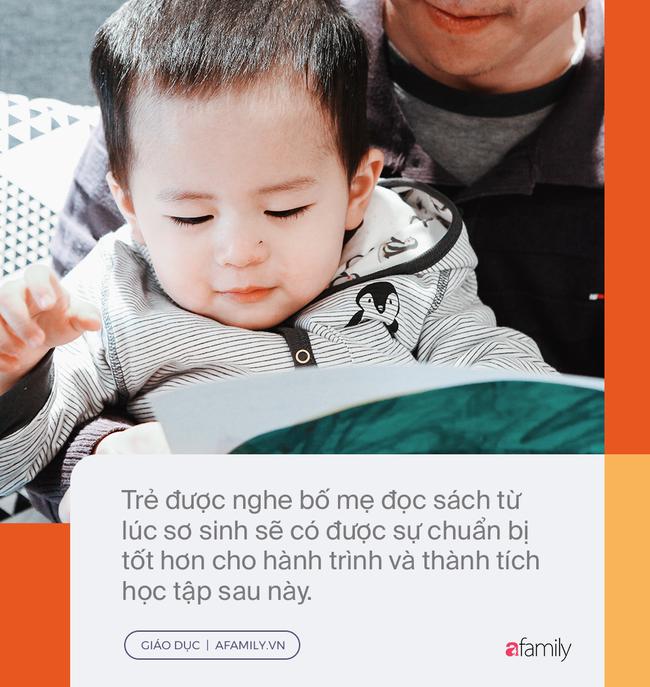 Đọc sách cùng bố mẹ - Trải nghiệm đầu tiên của trẻ về hạnh phúc - Ảnh 1.
