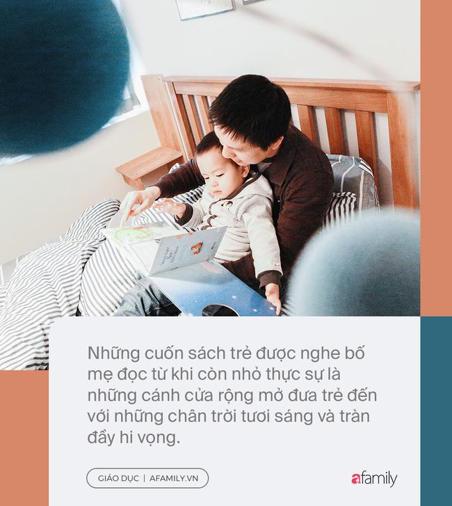 Đọc sách cùng bố mẹ - Trải nghiệm đầu tiên của trẻ về hạnh phúc - Ảnh 3.