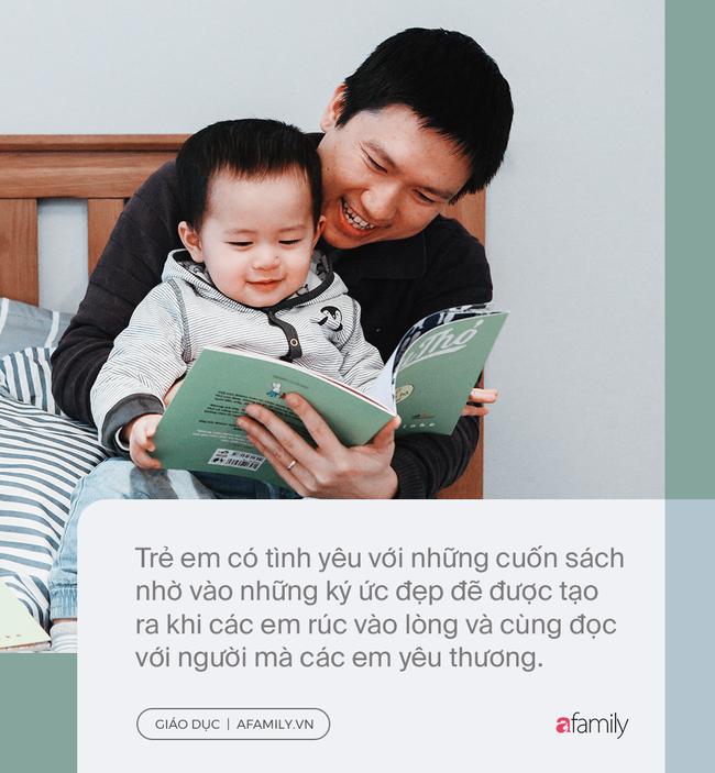 Đọc sách cùng bố mẹ - Trải nghiệm đầu tiên của trẻ về hạnh phúc - Ảnh 4.
