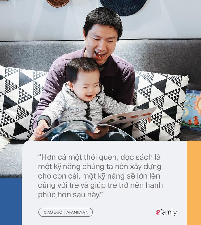Đọc sách cùng bố mẹ - Trải nghiệm đầu tiên của trẻ về hạnh phúc - Ảnh 5.