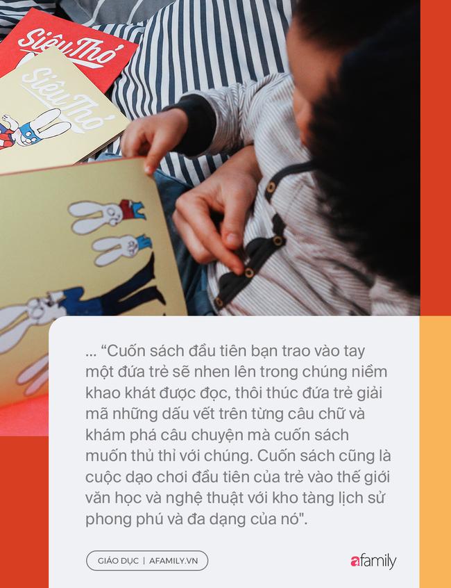 Đọc sách cùng bố mẹ - Trải nghiệm đầu tiên của trẻ về hạnh phúc - Ảnh 6.