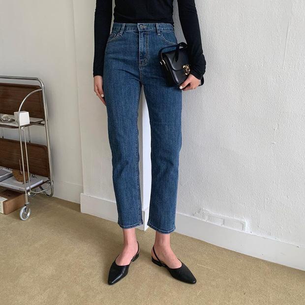 Thích quần skinny nhưng sợ bó chịt lộ chân xấu, các nàng hãy hóng ngay jeans thuốc lá hack chân đẹp siêu hạng - Ảnh 5.