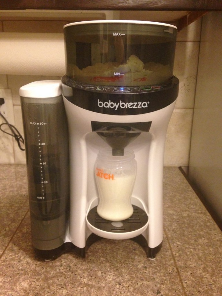 Những sáng chế dành riêng cho mẹ và bé, có cả máy pha sữa tự động đảm bảo mẹ nào cũng thích. - Ảnh 15.