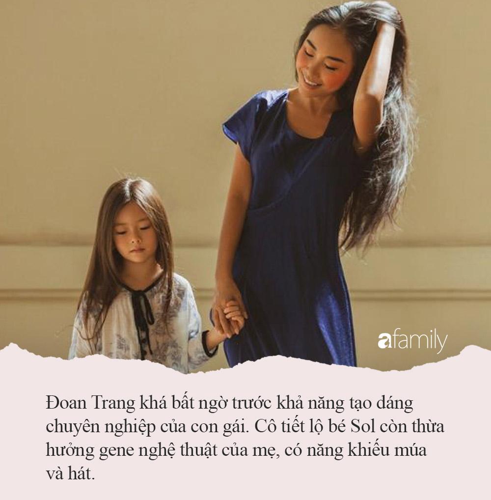 Con gái lai Tây của Đoan Trang: Mới 6 tuổi đã biết 3 thứ tiếng,  số lần vi vu nước ngoài còn nhiều hơn cả số tuổi - Ảnh 5.